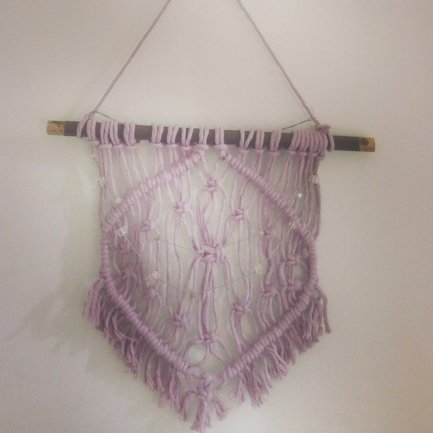 macrame hanging wall decoration