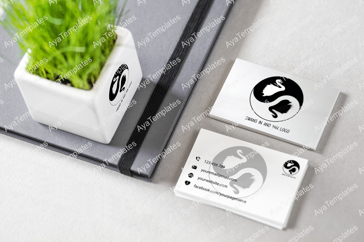 swans-in-and-yan-logo-design-mockup1