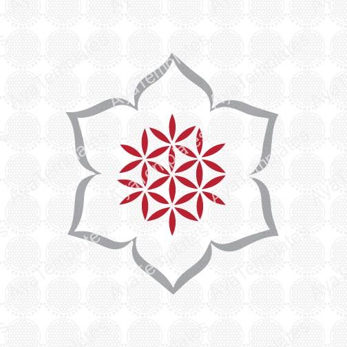 flower of life flower logo aya templates. Black Bedroom Furniture Sets. Home Design Ideas