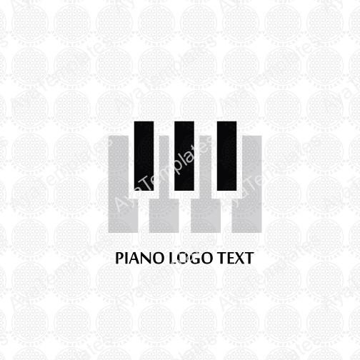 piano logo � aya templates