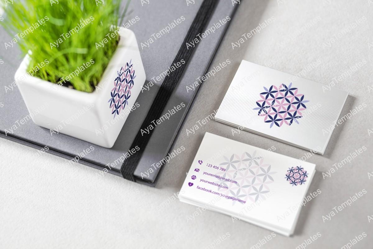 Snowflake-Harmony-logo-mockup