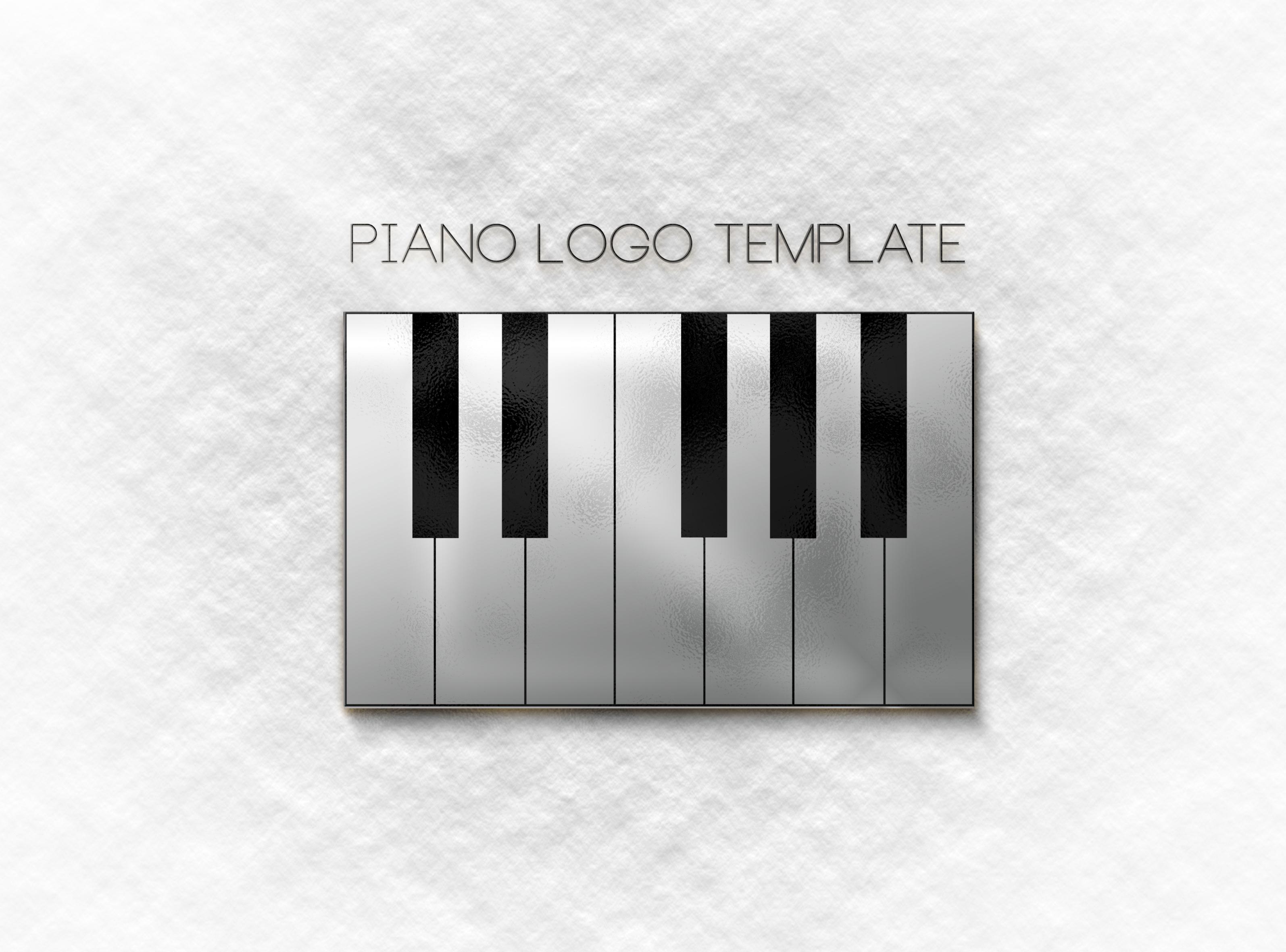 piano logo template � aya templates
