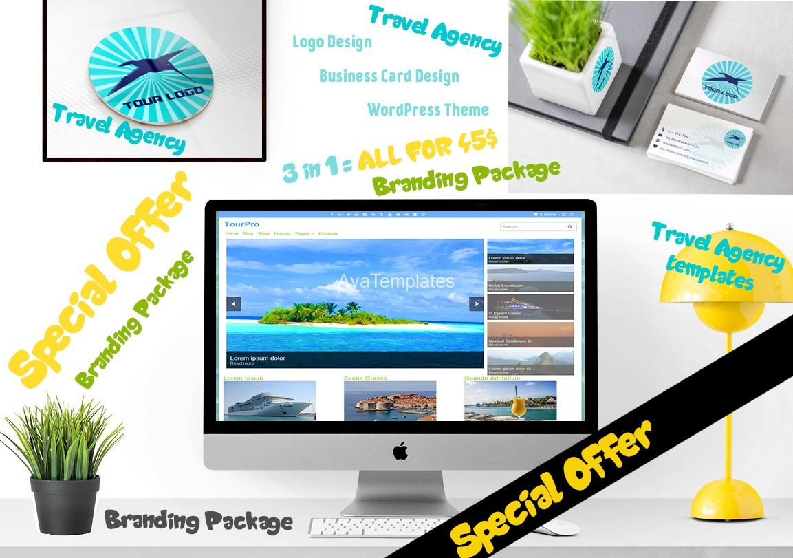 Travel Agency Branding Package