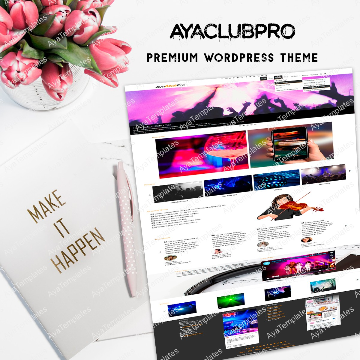 aya-club-pro-premium-wordpress-theme-mockup