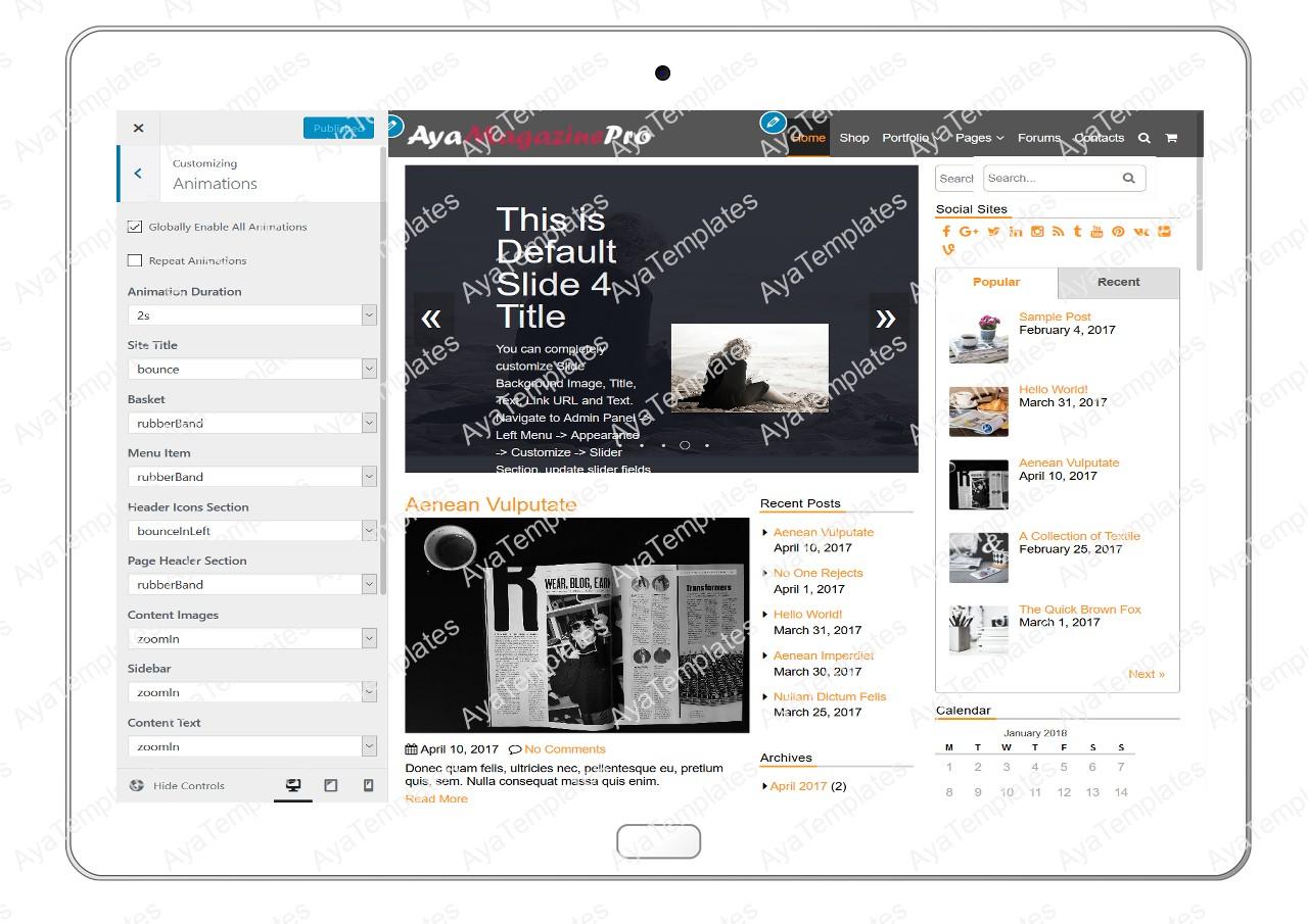 tablet-product-gallery-mockup-AyaMagazinePro-Customizing-Animations