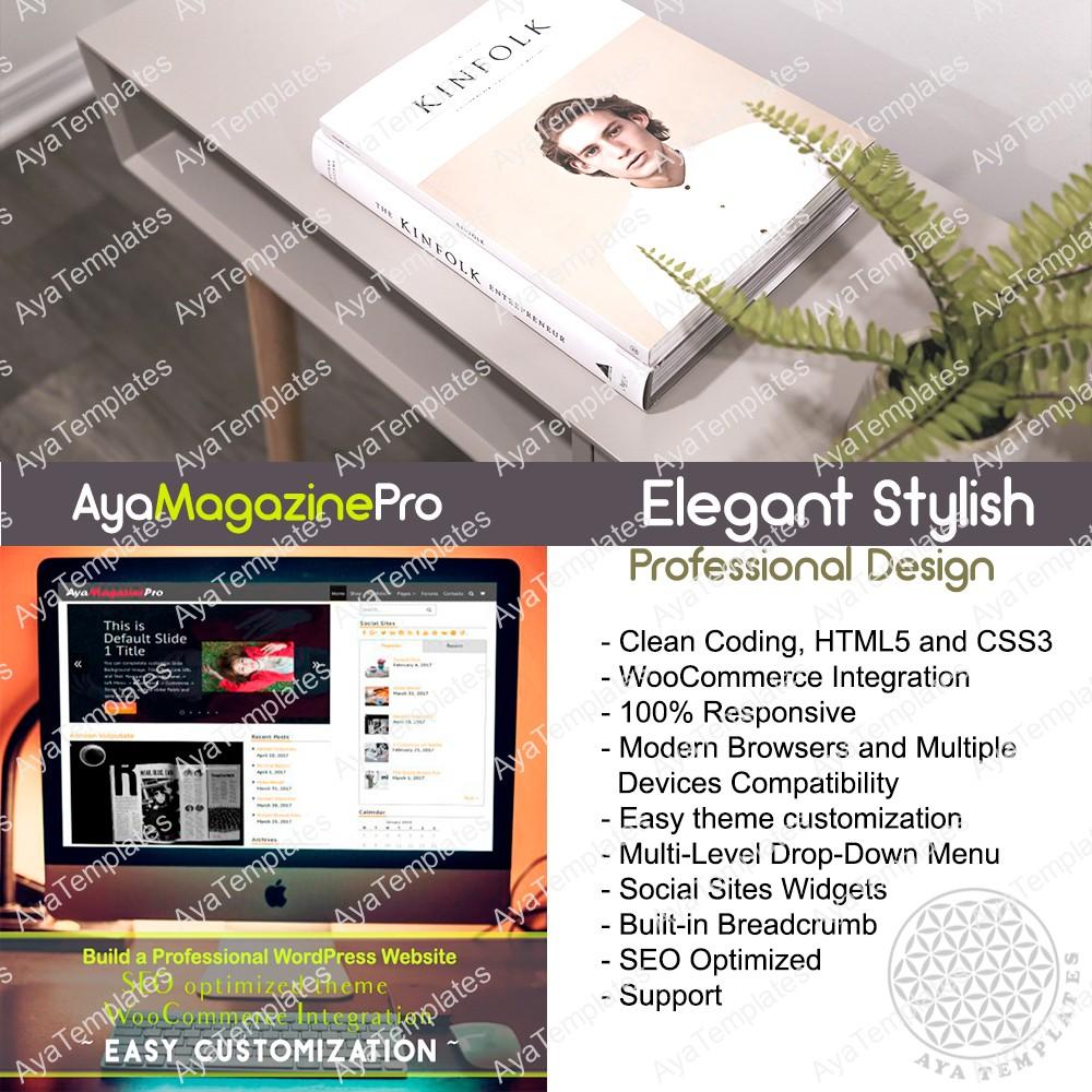 theme-collage-AyaMagazinePro-premium-wordpress-theme-mockup