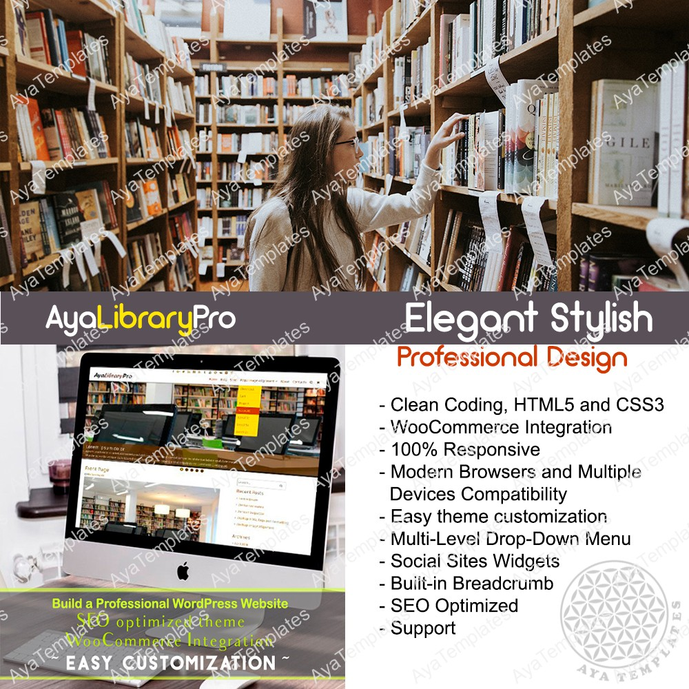theme-collage-aya-librarypro-preium-wordpress-theme