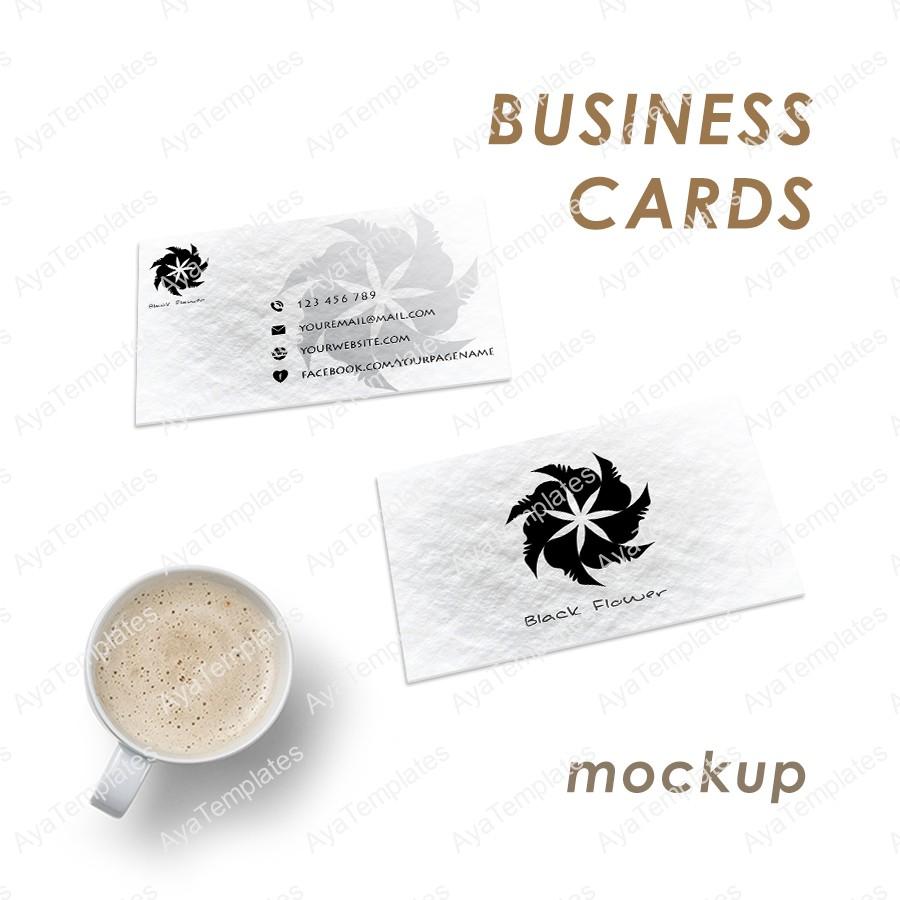 3 fresh business card mockups aya templates 3 fresh business card mockups magicingreecefo Choice Image