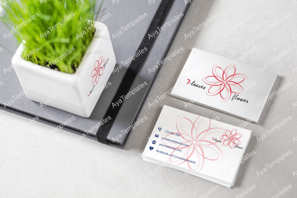 7-flower-leaves-logo-mockup1