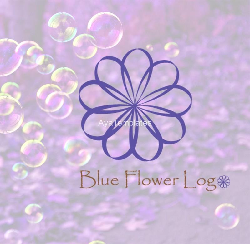 Blue-flower-logo