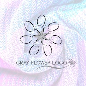 gray-flower-logo
