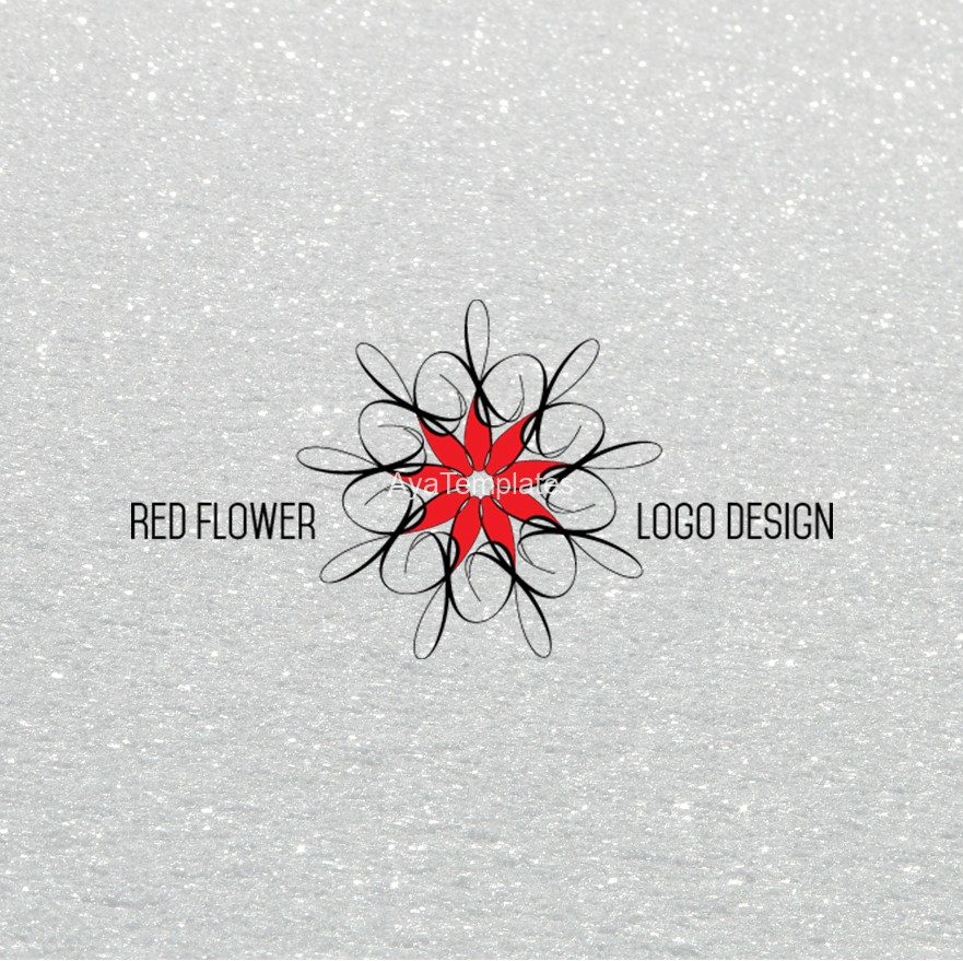 red-flower-logo