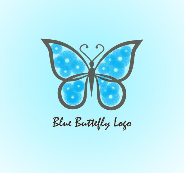 Blue-Butterfly-Logo