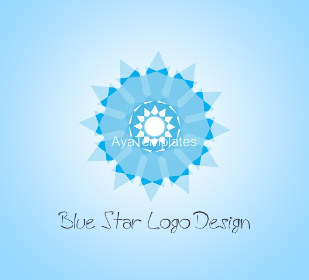 Blue-Star-Logo-Design