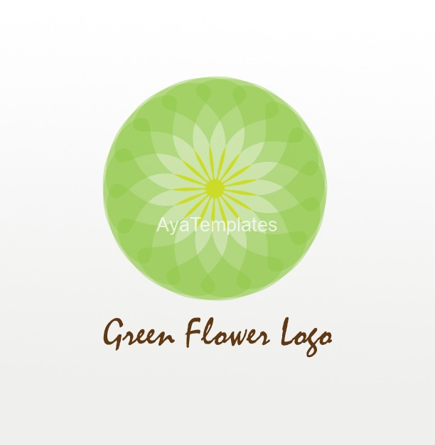 Green Flower Logo - Flowers Ideas For Review