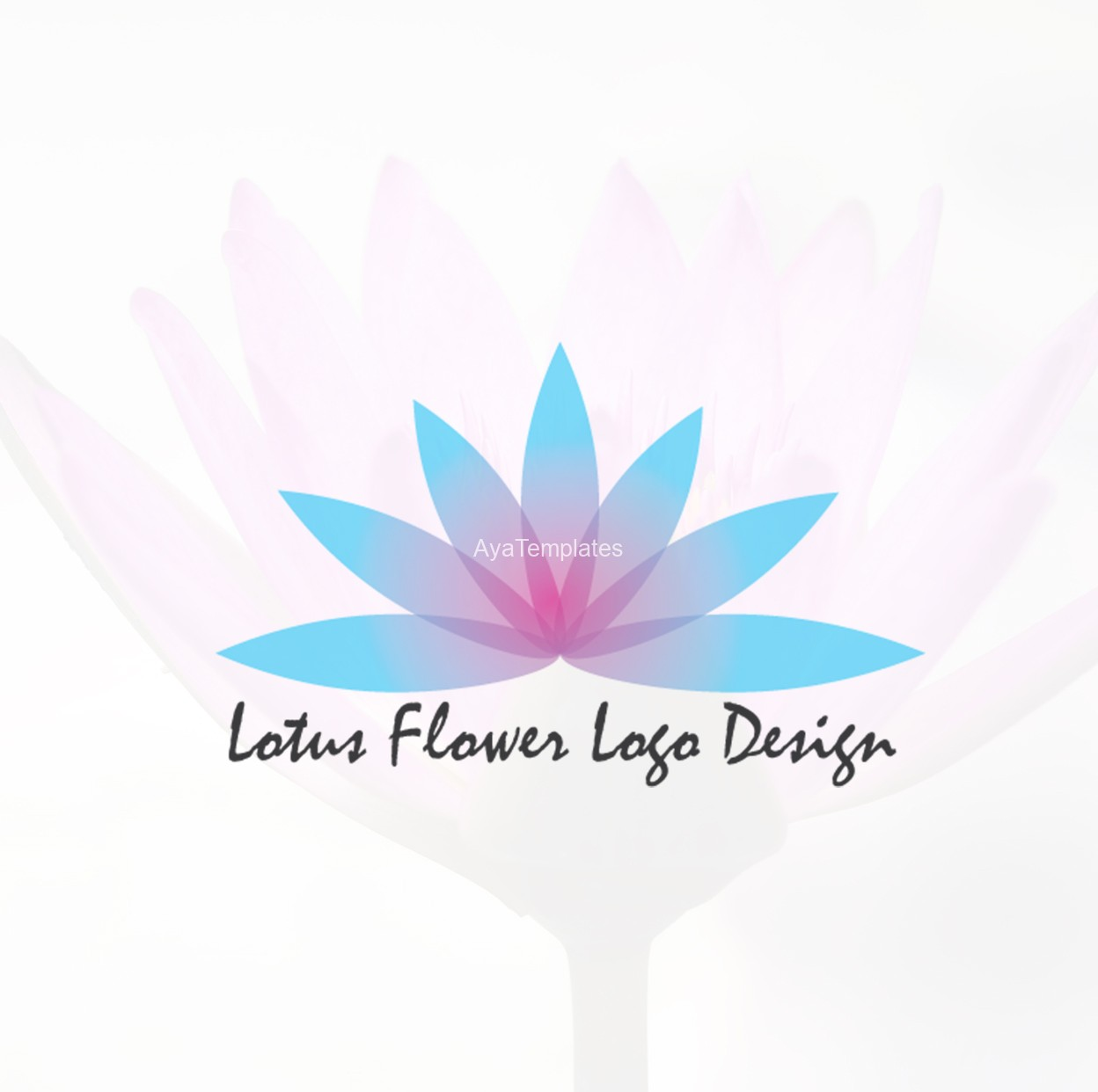 Lotus flower logo design aya templates lotus flower logo design izmirmasajfo