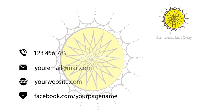 Business-card-Sun-Mandala-logo-back