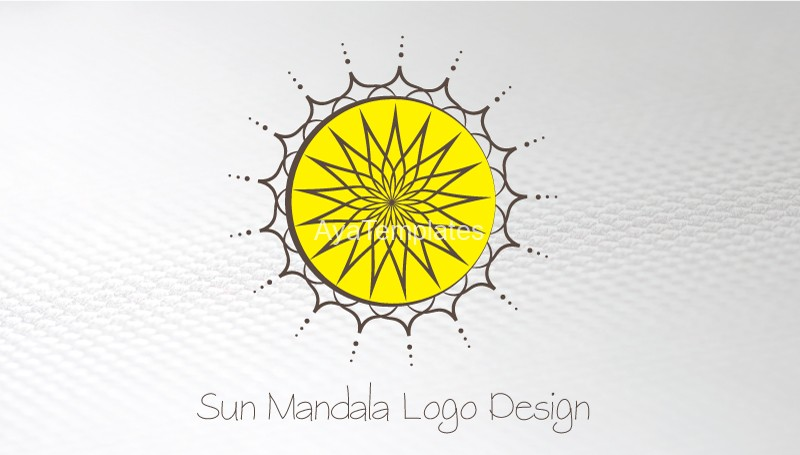 Business-card-Sun-Mandala-logo-front