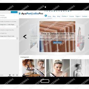 AyaPortfolioPro Customizing Thumbnails