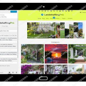 LandshaftingPro Customizing Site Identity