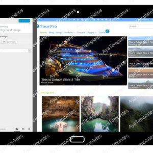 TourPro Customizing Background Image