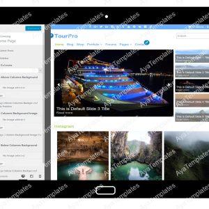 TourPro Customizing Home Page