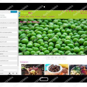 VeganPro Customizing Social Sites
