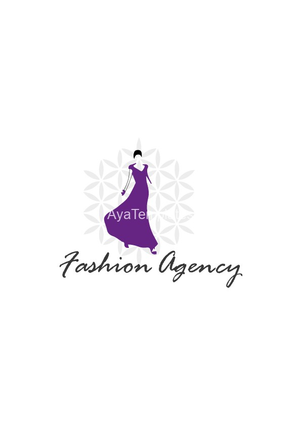 fashion agency logo design aya templates