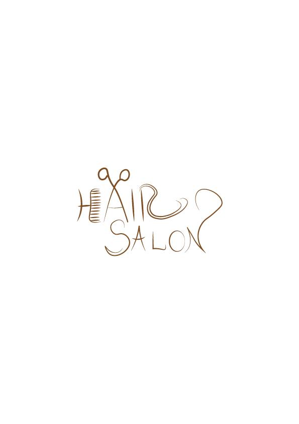 hair salon logo design aya templates