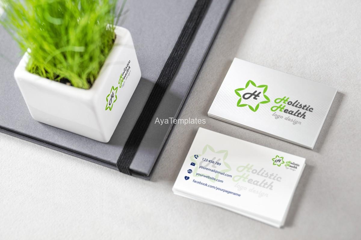 Holistic Health logo design – AYA Templates