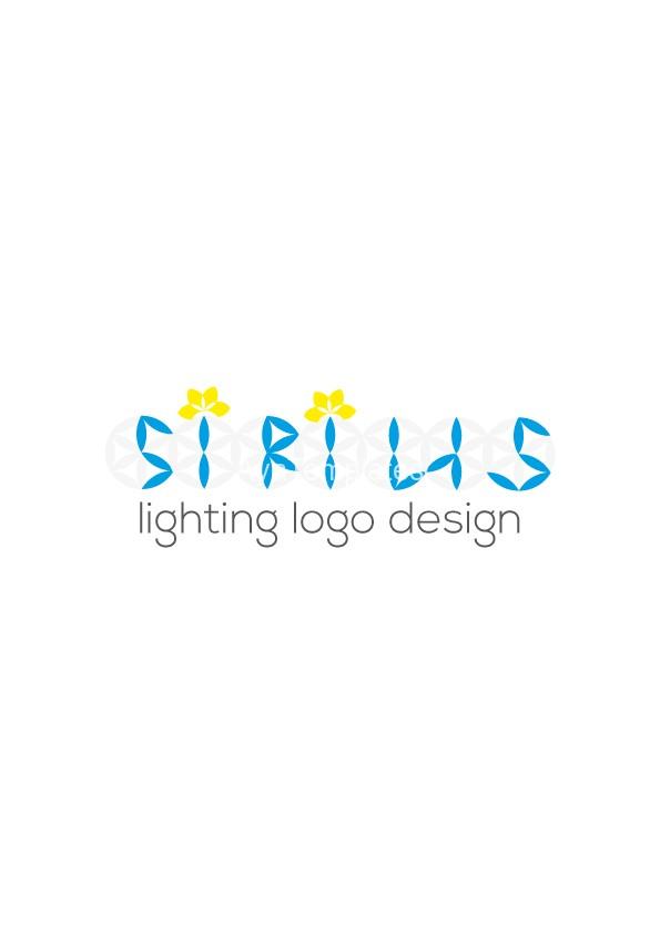 Lighting Logo Design Sirius AYA Templates
