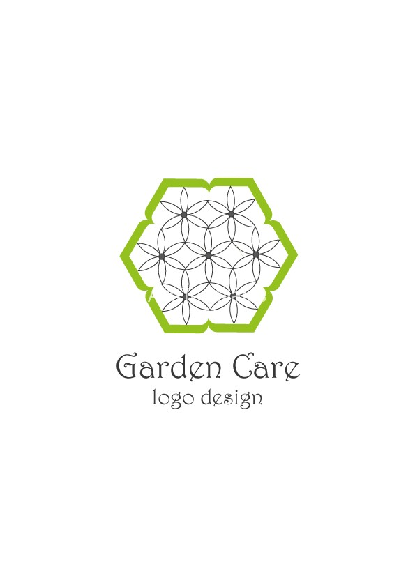 Garden care logo design aya templates for Garden maintenance logo