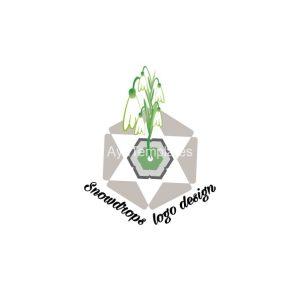 Snowdrops-logo-design