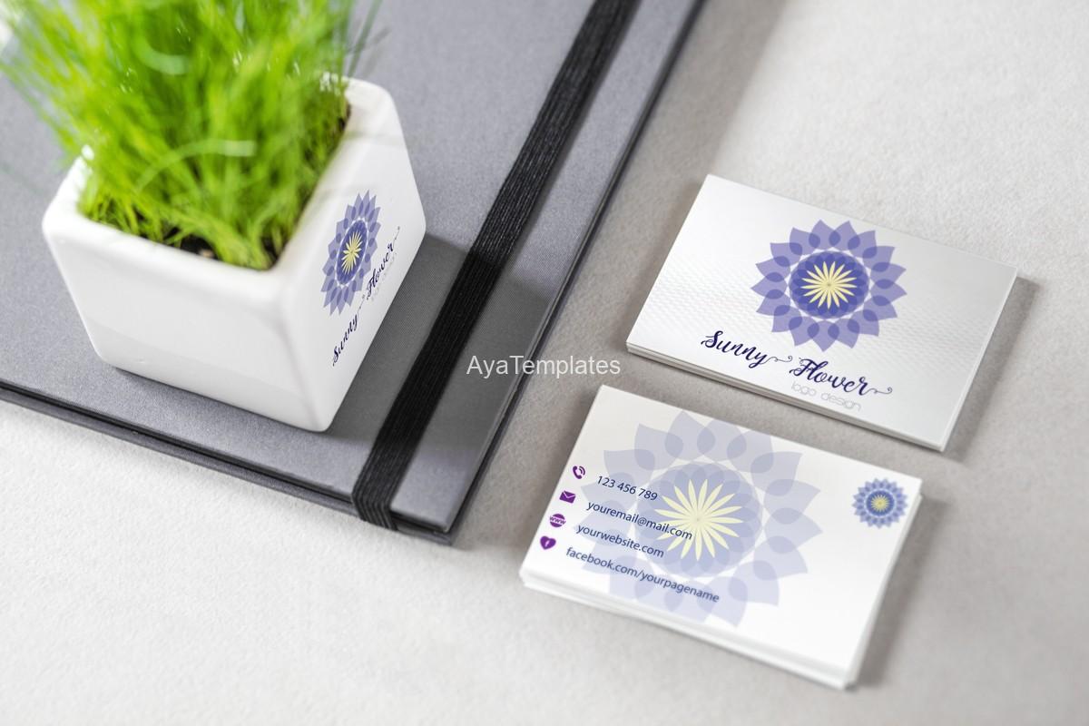 01-sunny-flower-logo-design-and-brand-identity-mockup
