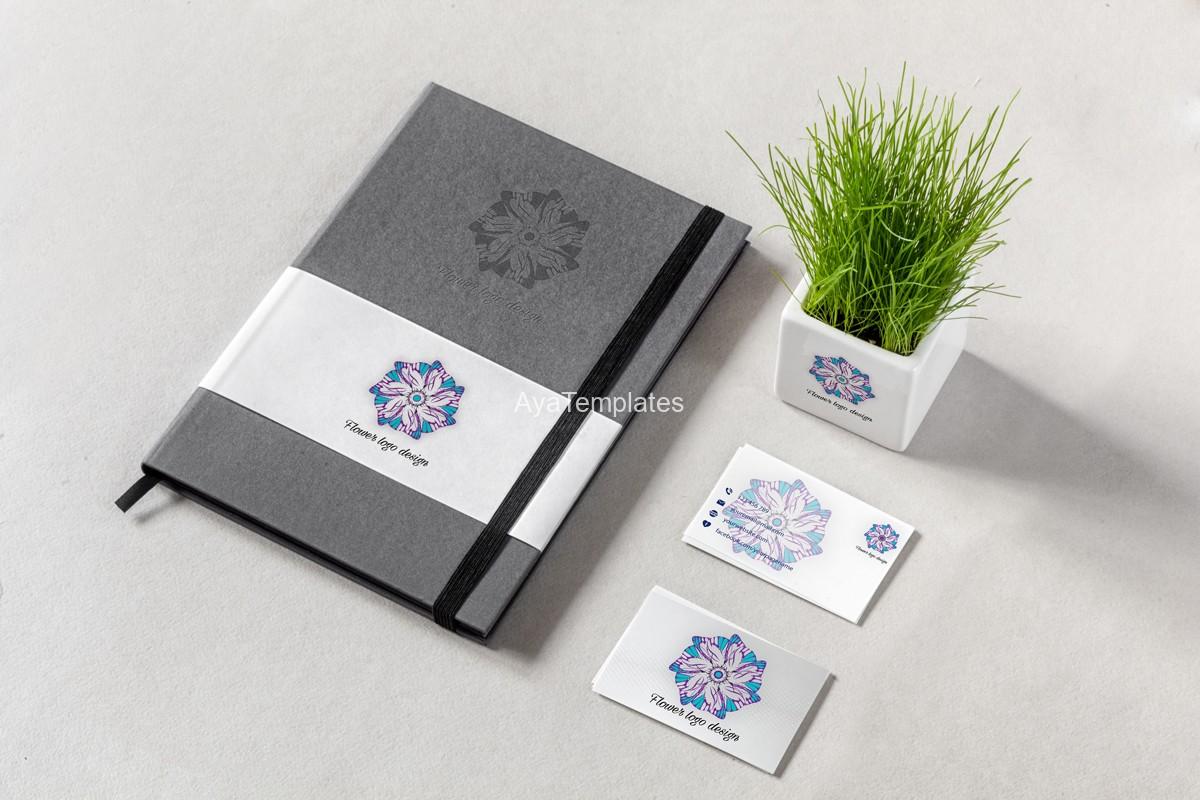 03.-flower-logo-design-and-brand-identity-mockup