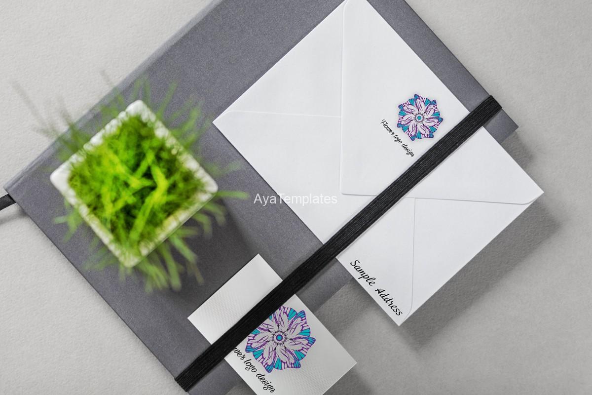 05.-flower-logo-design-and-brand-identity-mockup