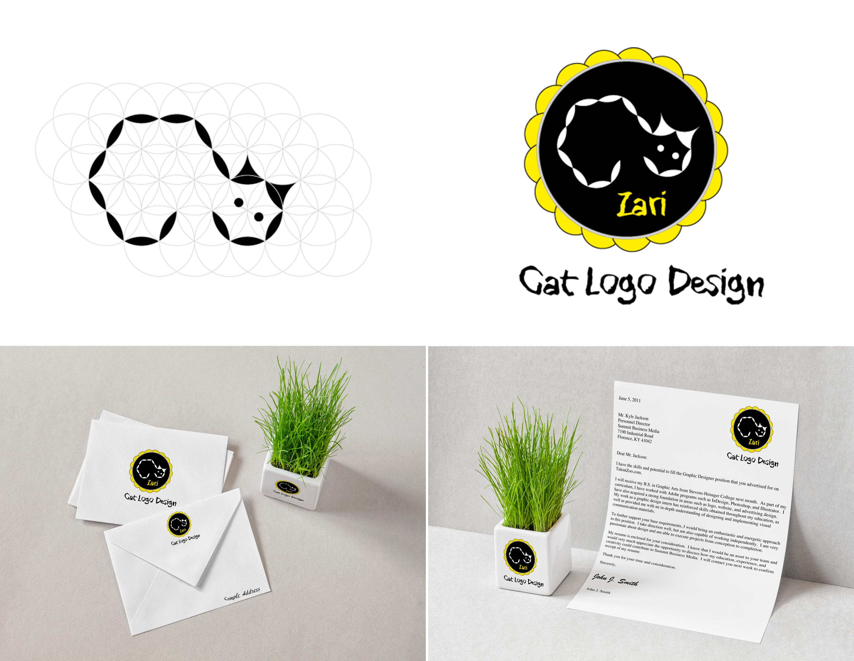 Cat-logo-design-Zari-branding-mockup