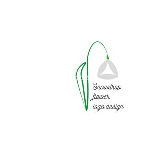 Snowdrop-flower-of-life-logo-design