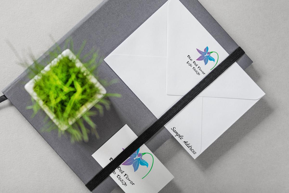blue-bell-flower-logo-design-branding-mockup