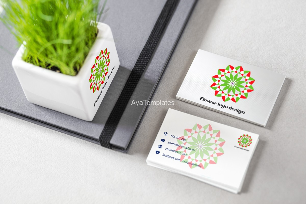 flower-logo-design-brand-identity-mockup