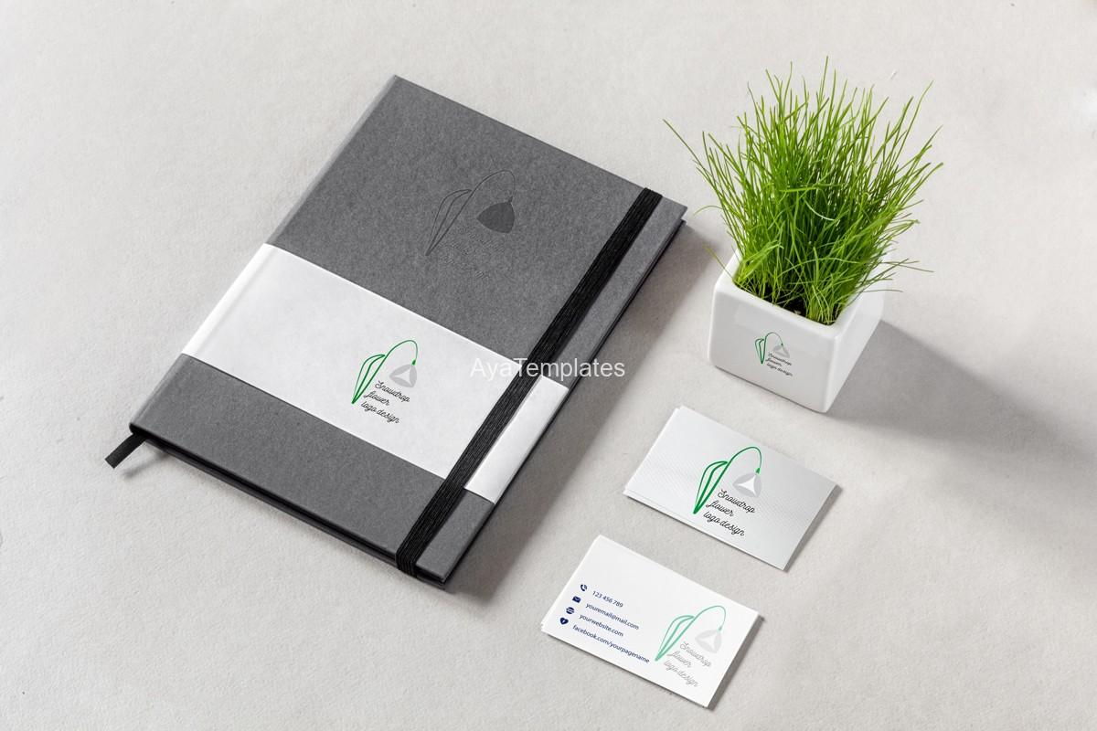 snowdrop-flower-logo-design-brand-identity-mockup3
