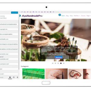 AyaHandmadePro-customizing-social-sites