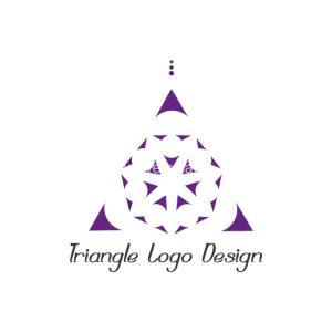 Triangle logo design