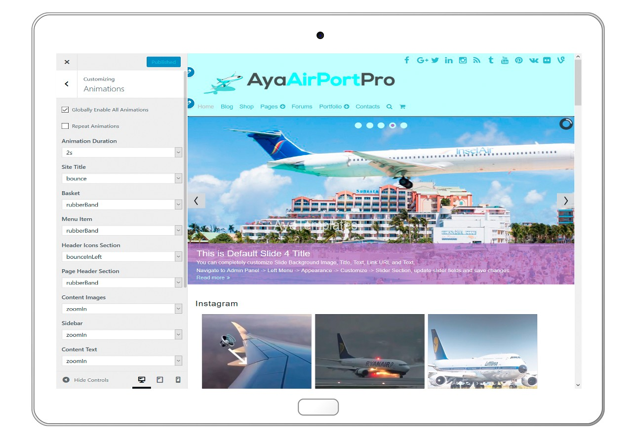 ayaairportpro-customizing-animations