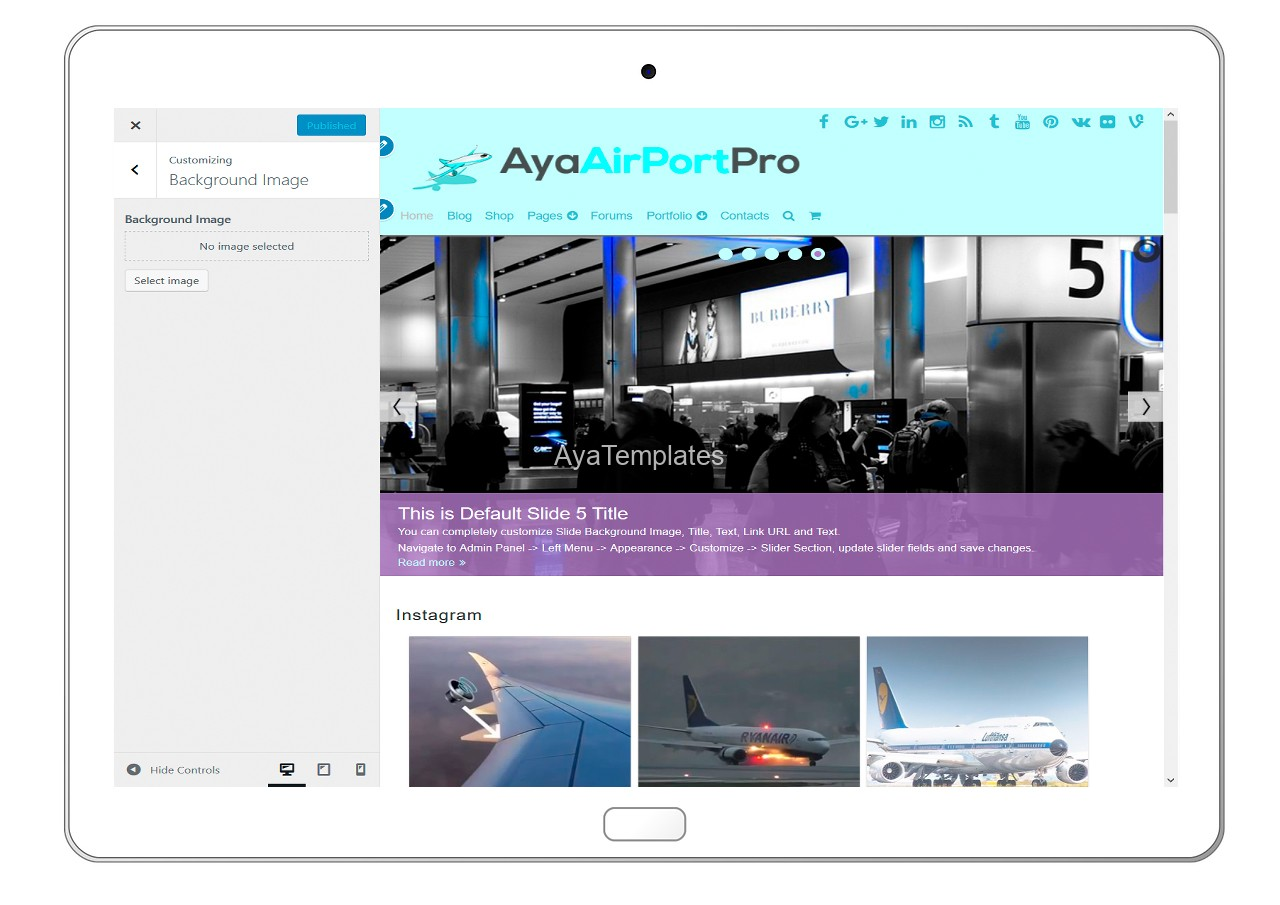 ayaairportpro-customizing-background-image