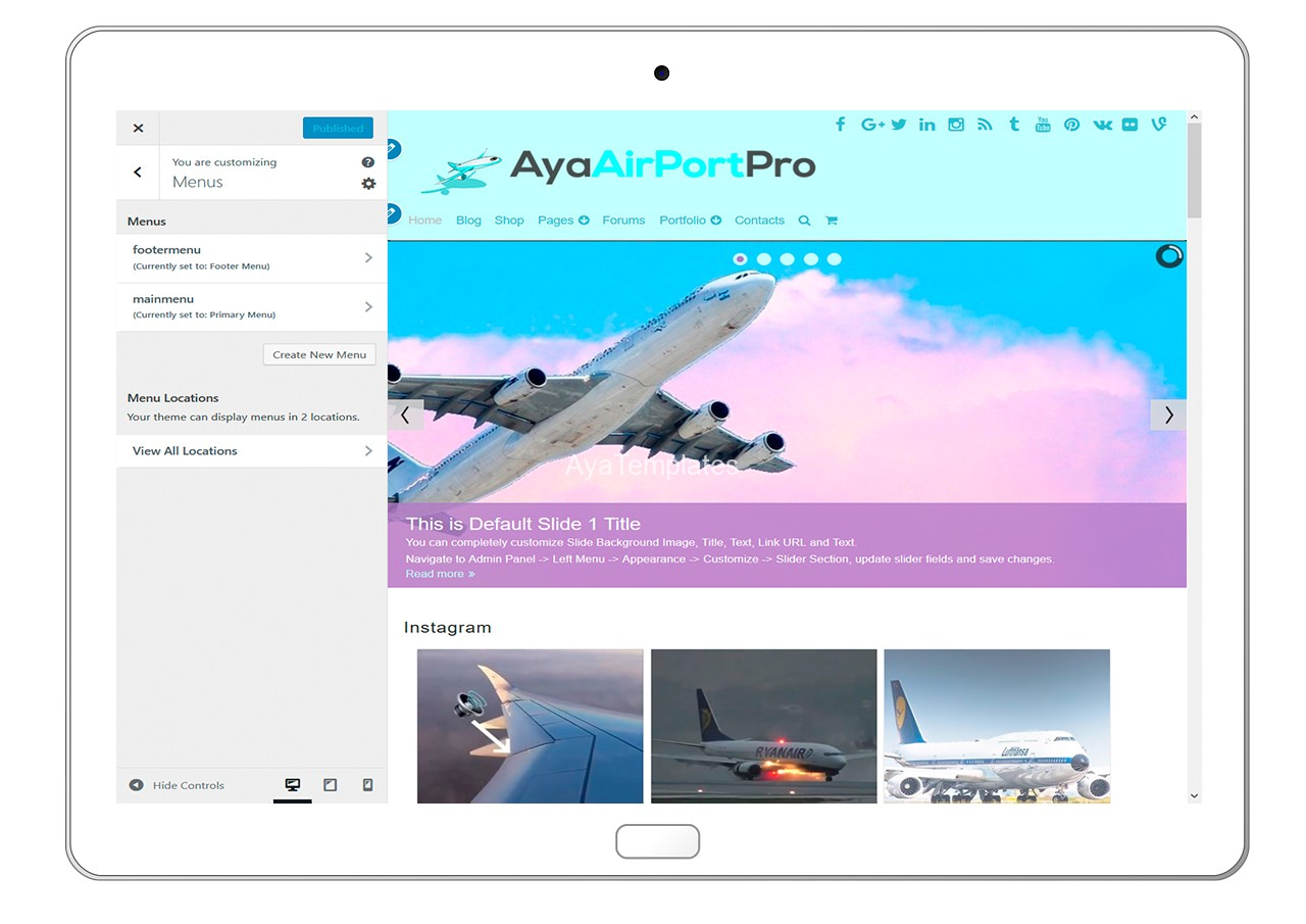 ayaairportpro-customizing-menus