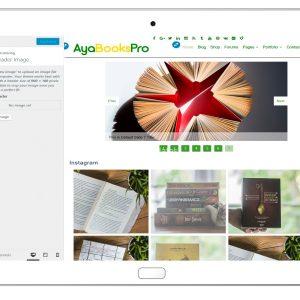 ayabookspro-customizing-header-image