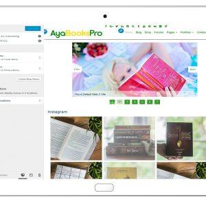 ayabookspro-customizing-menus