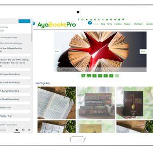 ayabookspro-customizing-slider