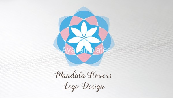 mandala-flower-logo-design-and-brand-identity-business-card-front